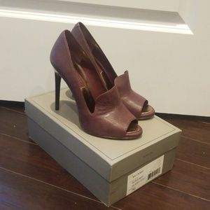 BCBG Burgundy Heels